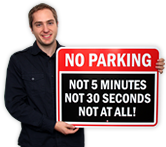 Funny Parking Signs