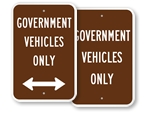 Government Parking Signs
