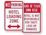 Hotel Loading & Parking