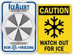 Ice Alert Signs