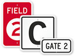 Gate ID Signs