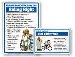 Bike Safety Signs