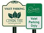 More Custom Valet Signs