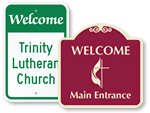 More Custom Welcome Signs