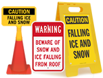 More Ice and Snow Warning Signs