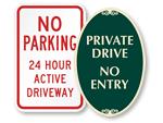 Driveway Sign