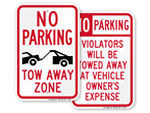 More Tow Away Signs