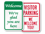 More Welcome Signs