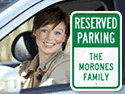 reserve parking spaces