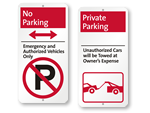 iParking No Parking Signs