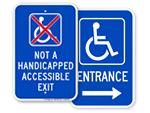 Not an Accessible Exit