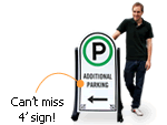 Oversized Parking Lot Sign Kits