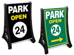 Park Here Signs