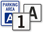 Parking Lot ID Signs
