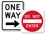 Parking Lot Signs (Traditional)