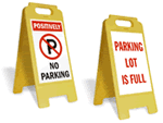 Portable Parking Signs