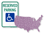 Parking Signs by State