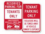 Tenant Parking Signs