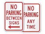 Popular No Parking Signs
