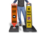 Portable Sign Kits with Base