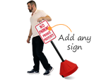 Portable Sign Bases