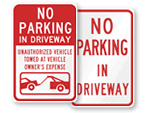 Private Driveway Signs