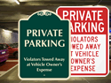 for private parking