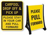 Pull Forward Signs