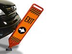 Reboundable Exit Signs