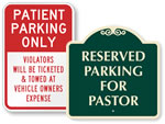 Parking Signs By Title