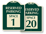 Reserved Parking Spot SignatureSigns™