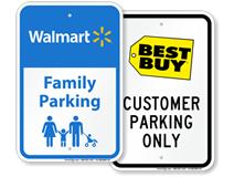 Retailer Chain Signs