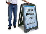 Custom Sandwich Board Signs