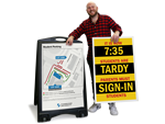 Sandwich Board Signs – Totally Custom