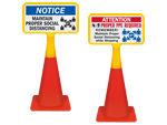 Cone Top Signs