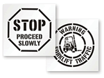 Traffic Stencils