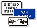 Supplemental Parking Signs