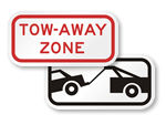 Supplemental Tow-Away Signs