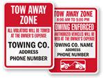 Tow-Away Zone