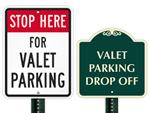 Valet Parking Signs