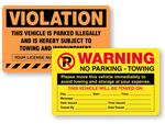 Violation Stickers