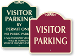 Visitor Parking Signs - SignatureSigns