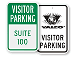 Visitor Parking Signs - Custom Templates