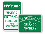 Custom Welcome Signs