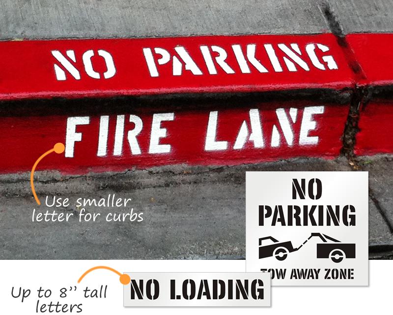 No parking stencils spiritdancerdesigns Image collections