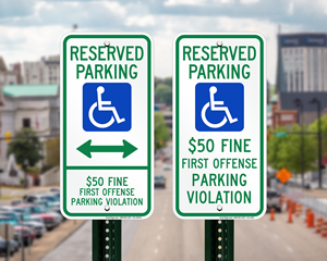 Alabama Parking Signs, Fire Lane Signs and Other Regulated Signs