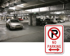 All No Parking Signs