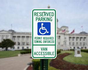 Arkansas Parking Signs, Fire Lane Signs and Other Regulated Signs