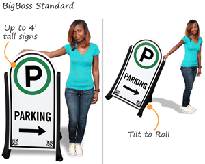 BigBoss standard parking lot sign