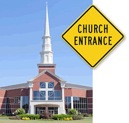 Church Directional Signs
